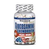 Glucosamine Chondroitin + MSM 120 Caps de Weider