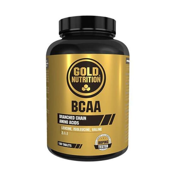 BCAAS 180 Tabs de GoldNutrition