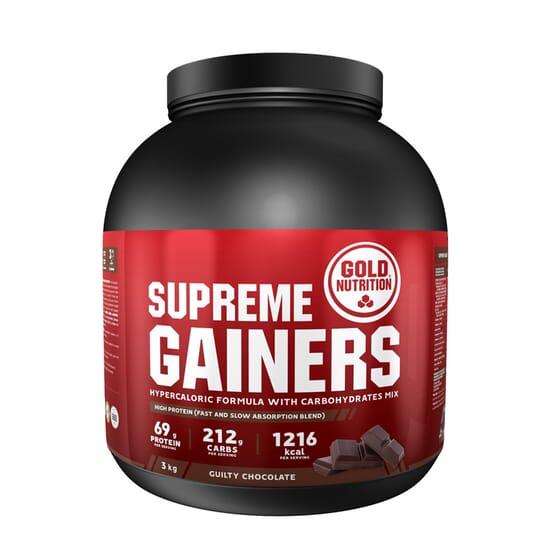 Supreme Gainers 3kg de Gold Nutrition