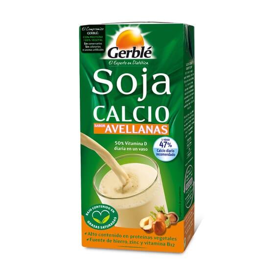 Bebidas Soja Calcio Sabor Avellanas 1l de Gerblé