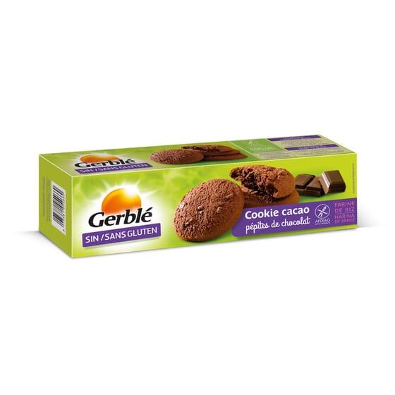 COOKIES CACAO PÉPITES DE CHOCOLAT 3 Biscuits 4 Sachets de Gerblé