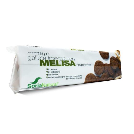 Bolacha Integral Com Melissa 165g da Soria Natural
