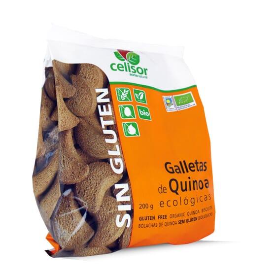 Bolachas De Quinoa Ecológicas Sem Glúten 200g da Soria Natural