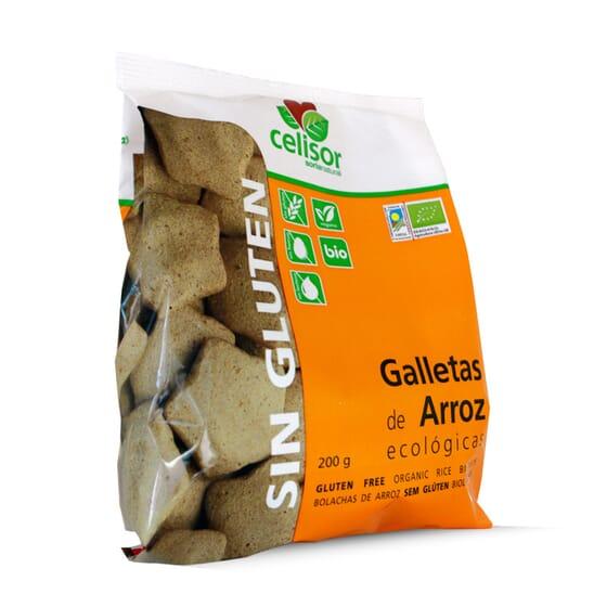 Galletas De Arroz Ecológicas Sin Gluten 200g de Soria Natural