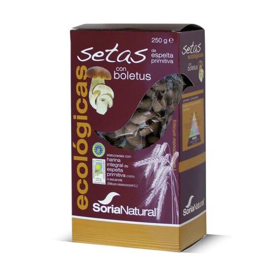 Setas Ecológicas De Espelta Integral Con Boletus 250g de Soria Natural