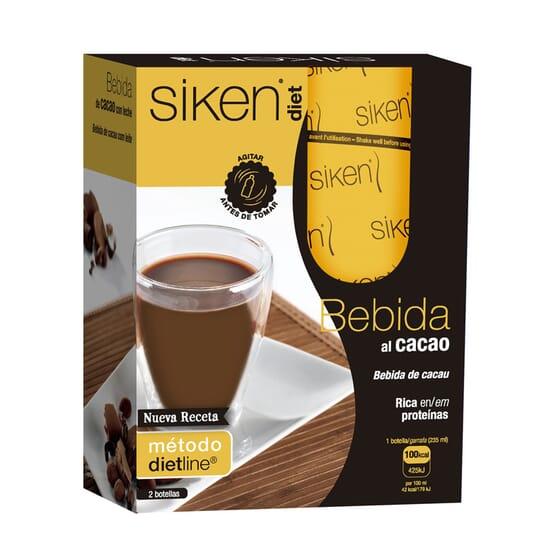 Bebida De Cacau Com Leche 2 x 235 ml da Siken