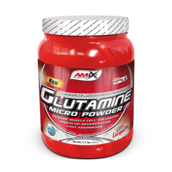Glutamine Micro Powder 500g da Amix Nutrition