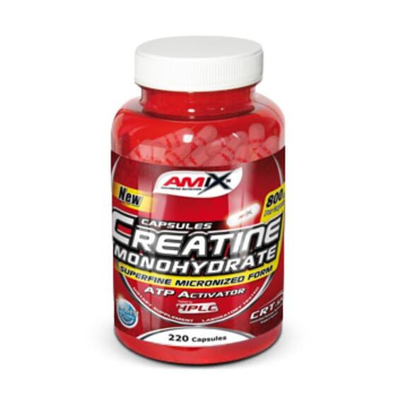 Creatine Monohydrate 220 Caps de Amix Nutrition