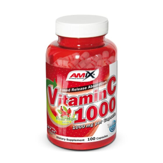 Vitamin C 1000 100 Caps da Amix Nutrition