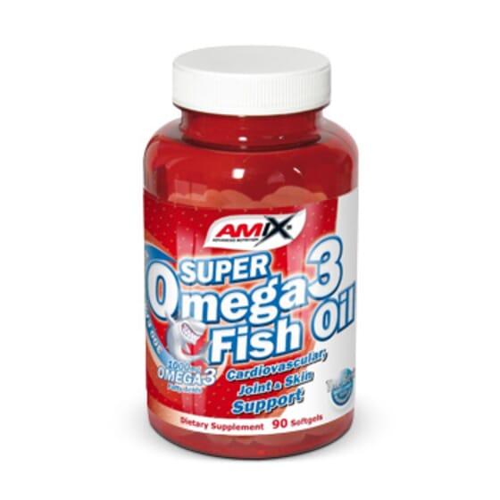 Super Omega-3 Fish Oil 90 Softgels da Amix Nutrition