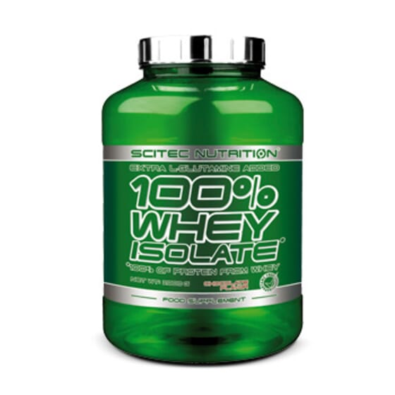 100% Whey Isolate 2kg de Scitec