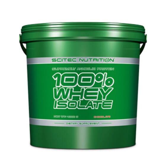 100% Whey Isolate 4kg de Scitec