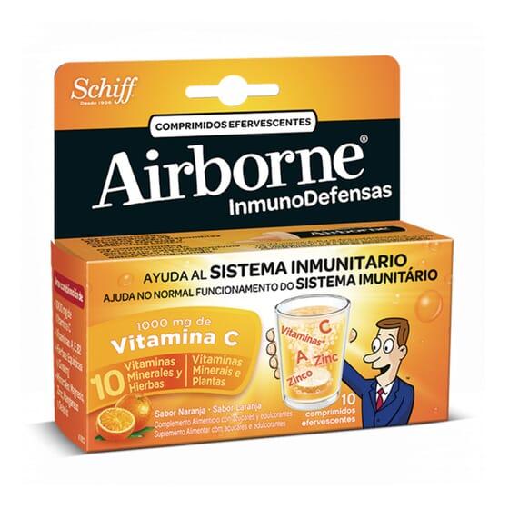 Airborne Imunodefesas Efervescente Laranja 10 Tabs da Airborne