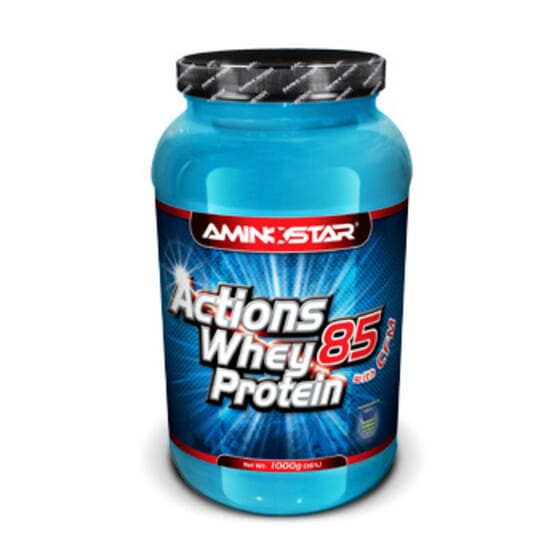 WHEY PROTEIN ACTIONS 85 with CFM 2 Kg - AMINOSTAR