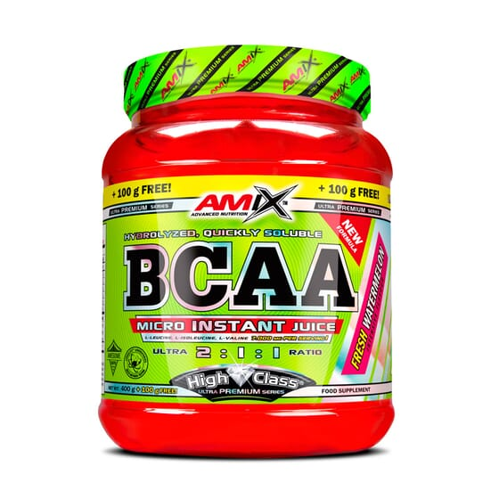 BCAA MICRO INSTANT JUICE 500g - AMIX NUTRITION
