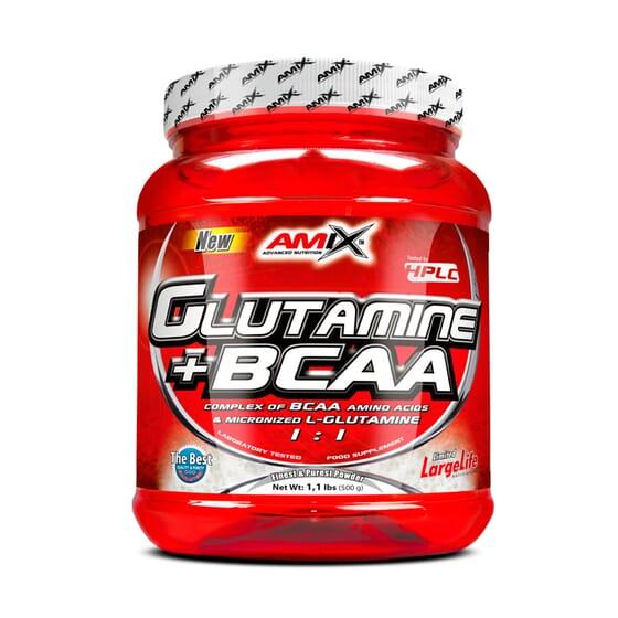 Glutamina + Bcaa 500g de Amix Nutrition