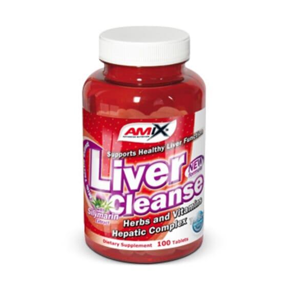 Liver Cleanse 100 Caps de Amix Nutrition
