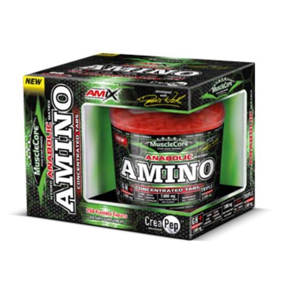Anabolic Amino 250 Tabs de Amix Nutrition