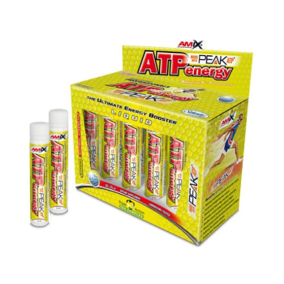 ATP Energy Liquid 10 x 25ml de Amix Nutrition