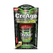 CREAGE CREATINE HCL 120 Gélules - AMIX NUTRITION