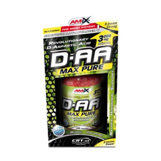 D-AA Max Pure 100 Caps De Amix Nutrition