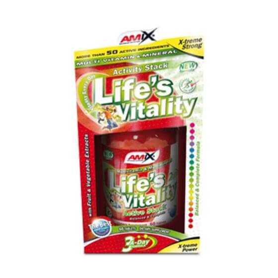 Life's Vitality 60 Tabs de Amix Nutriton