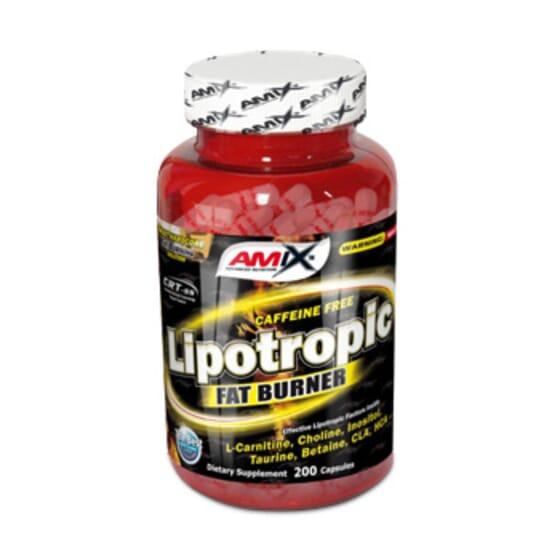 Lipotropic Fat Burner 200 Caps de Amix Nutrition