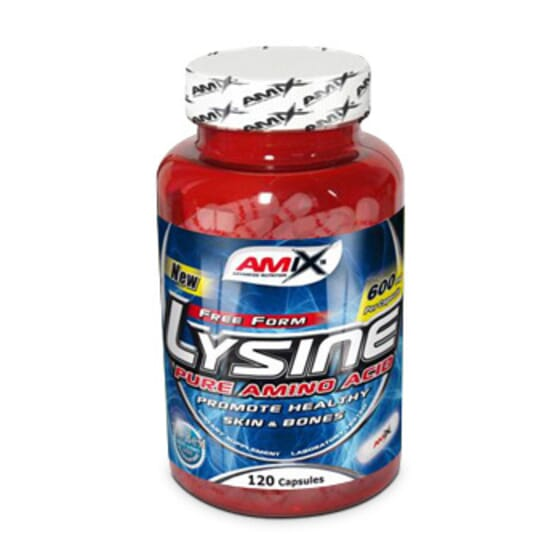 L-Lysine 600Mg - 120 Caps da Amix Nutrition