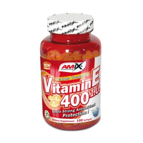 Vitamina E 400 IU 100 Softgels de Amix Nutrition
