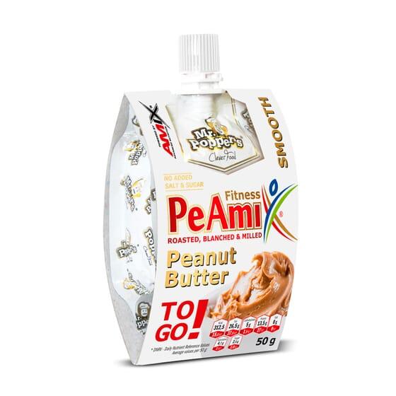 PEAMIX PEANUT BUTTER 50g - AMIX NUTRITION