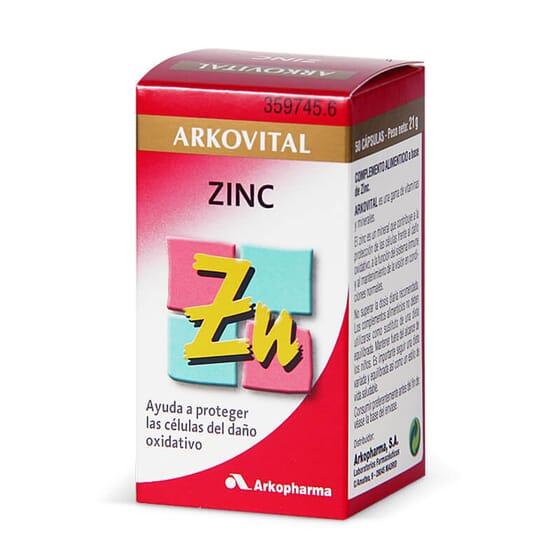 ARKOVITAL ZINC 50 Gélules
