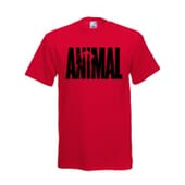 CAMISETA ANIMAL ROJA - UNIVERSAL NUTRITION