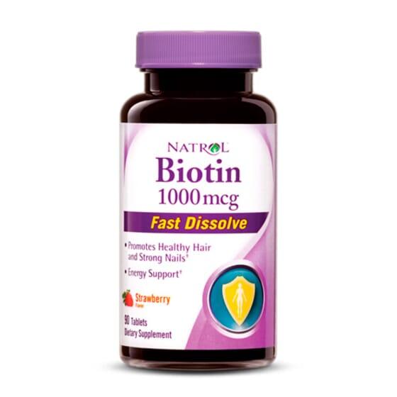 Biotina 1000Mcg - 90 Tabs da Natrol