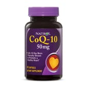 Coq-10 50 mg 45 Capsule Soft Gel di Natrol