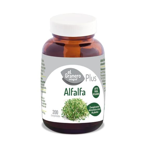 Alfalfa Plus 200 Tabs de El Granero Integral