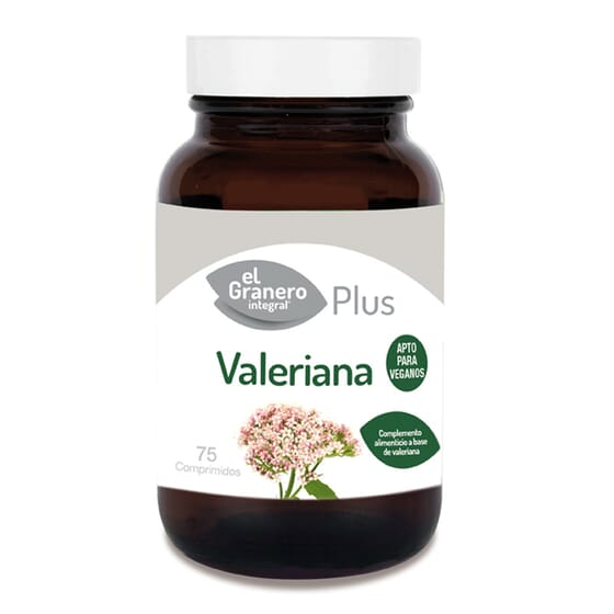 Valeriana Forte 75 Tabs El Granero Integral