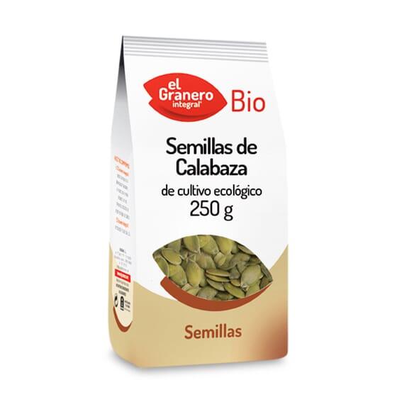 Sementes De Abóbora Bio 250g da El Granero Integral
