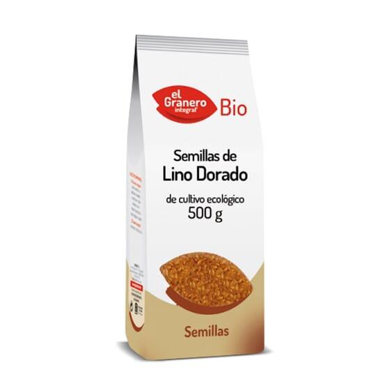 Semillas De Lino Dorado Bio 500g de El Granero Intestinal