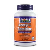 Acetyl L-Carnitine 750mg 90 Tabs de Now Foods