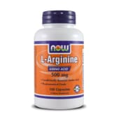 L-ARGININE 500 mg 100 Gélules - NOW FOODS