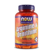 Arginine & Ornithine 250 Caps da Now Sports