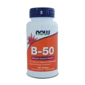 B-50-100 Tabs da Now Foods