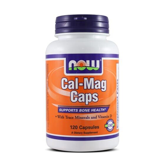 Cal-Mag Caps 120 Caps da Now Foods