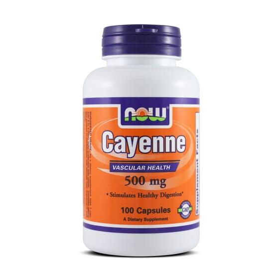 Cayenne 500Mg 100 Caps da Now Foods