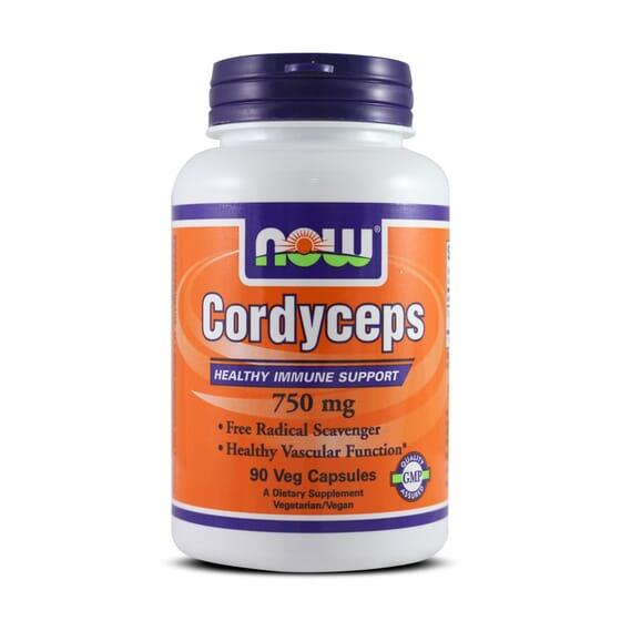Cordyceps 750Mg 90 Vcaps da Now Foods