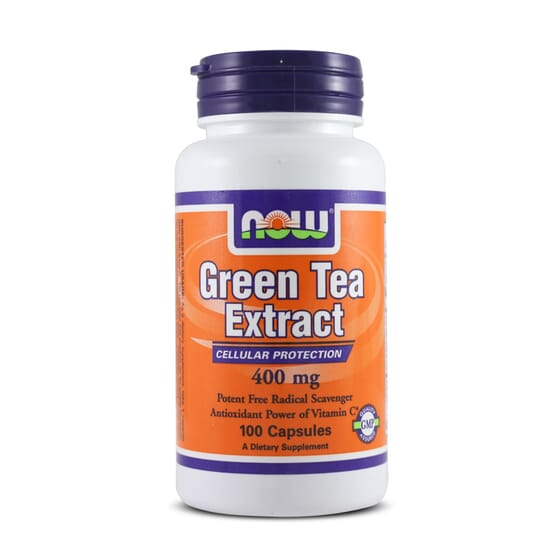 Green Tea Extract 400Mg 100 Caps da Now Foods