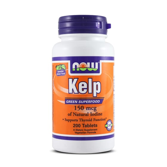 Kelp 150Mcg 200 Tabs da Now Foods
