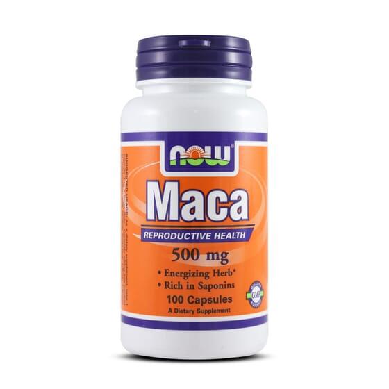 Maca 500Mg 100 Caps da Now Foods
