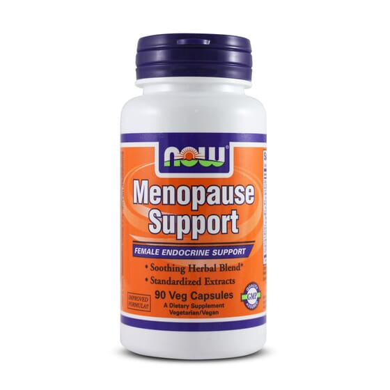 MENOPAUSE SUPPORT 90 VCaps -  NOW FOODS