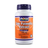 Saw Palmetto Extract 160mg 120 Softgels de Now Foods